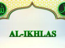 Bacaan Surah Al Ikhlas Rumi Dan Jawi
