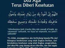 Beberapa Doa Diberikan Kesihatan Yang Baik Dan Doa Ketika Sakit
